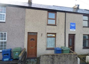 Thumbnail 2 bed terraced house for sale in St. Tudwals Terrace, Pwllheli, Gwynedd