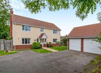 Thumbnail 4 bedroom detached house for sale in Spring Close, Gislingham, Eye
