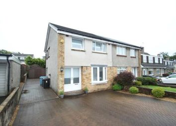 Thumbnail 3 bed semi-detached house for sale in Sutherland Drive, Airdrie, North Lanarkshire