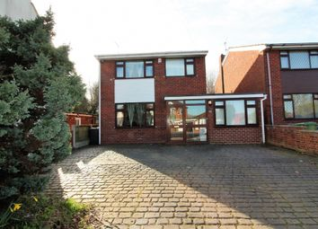 Thumbnail 3 bed detached house for sale in Pooles Lane, Willenhall