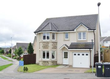 Thumbnail 4 bed detached house to rent in Castleview Way, Kintore, Inverurie