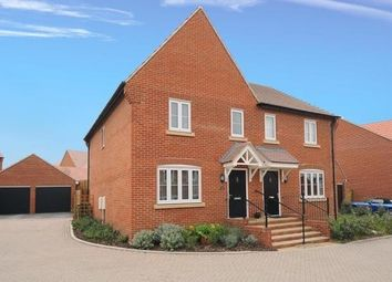 Thumbnail 3 bed semi-detached house to rent in Olaf Schmid Mews, Didcot