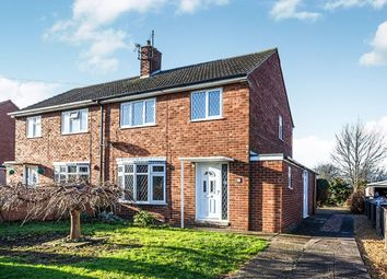 Thumbnail 3 bed semi-detached house to rent in Glebe Road, Humberston, Grimsby