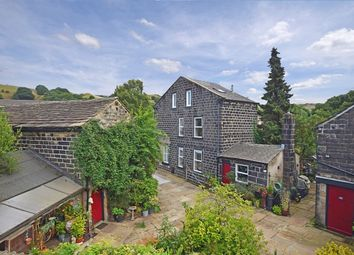 Thumbnail 3 bed detached house for sale in Rochdale Road, Walsden, Todmorden