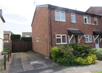Thumbnail 2 bed town house for sale in Alport Way, Wigston