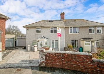 Thumbnail 2 bed semi-detached house for sale in Walters Road, Plymouth