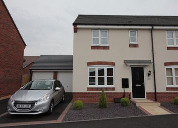 Thumbnail 3 bed property to rent in Sword Drive, Hinckley