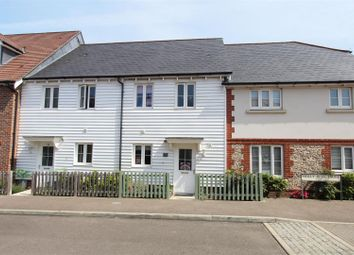 Thumbnail 2 bed terraced house for sale in Holly Blue Drive, Iwade, Sittingbourne