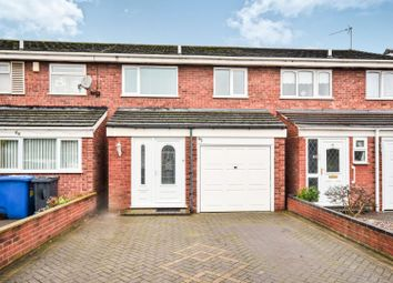 Thumbnail 3 bed terraced house for sale in Rosewood Close, Tamworth