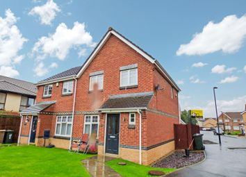 Thumbnail 3 bed semi-detached house for sale in Cawfields Court, Newcastle Upon Tyne