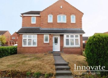Thumbnail 4 bed detached house for sale in Aster Way, Walsall