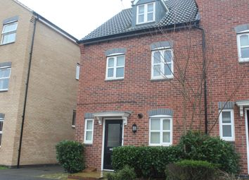 Thumbnail 4 bed semi-detached house to rent in Ryknield Road, Hucknall, Nottingham