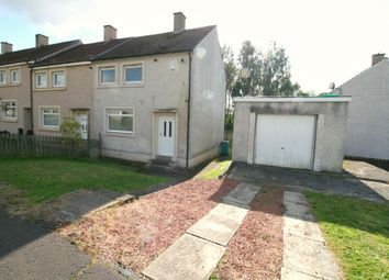 Thumbnail 2 bed end terrace house for sale in Gorsehall Street, Cleland