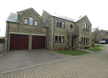 Thumbnail 5 bed detached house for sale in The Croft, Upper Cumberworth, Huddersfield