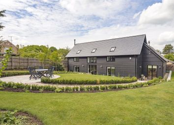Thumbnail 4 bed detached house for sale in Long Lane, Fowlmere, Royston, Hertfordshire