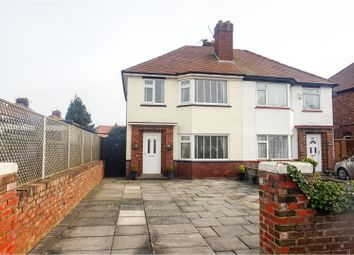 Thumbnail 3 bed semi-detached house for sale in Ranelagh Drive, Southport