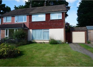 Thumbnail 3 bed semi-detached house for sale in Maple Close, Horsham