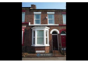 Thumbnail 4 bed terraced house to rent in Upper Warwick Street, Liverpool