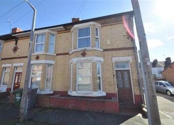 Thumbnail 3 bedroom end terrace house for sale in Merton Road, Wallasey