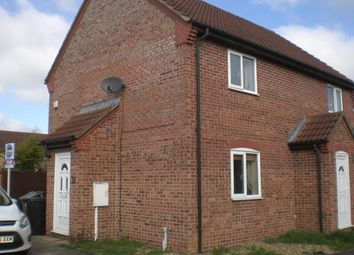 Thumbnail 2 bed semi-detached house to rent in Blackthorn, Stamford
