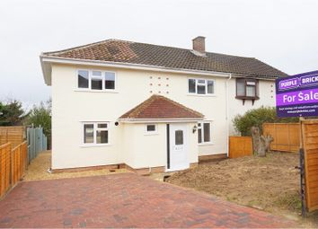 Thumbnail 4 bed semi-detached house for sale in Stanley Little Road, Salisbury
