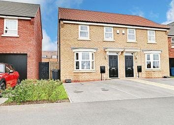 Thumbnail 3 bedroom semi-detached house for sale in Elthorne Park, Kingswood, Hull
