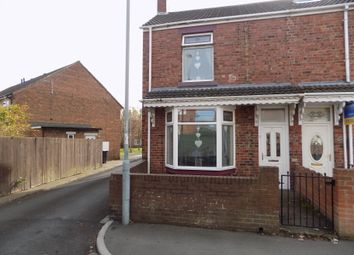 Thumbnail 3 bed end terrace house for sale in King Edward Street, Shildon
