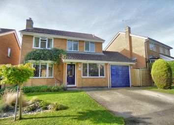 Thumbnail 4 bed detached house for sale in Kingfisher Close, Oakham