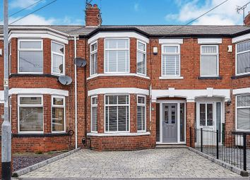 Thumbnail 3 bed terraced house for sale in Fairfield Road, Hull