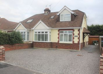 Thumbnail 4 bed semi-detached bungalow for sale in The Kingsway, Portchester, Fareham