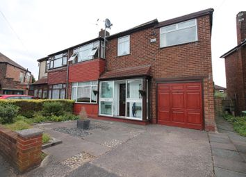 Thumbnail 5 bed semi-detached house to rent in Hilrose Avenue, Urmston, Manchester