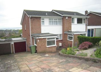 Thumbnail 3 bed semi-detached house to rent in Anson Grove, Portchester