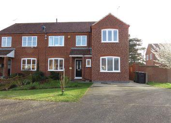 Thumbnail 4 bedroom semi-detached house for sale in Robert Balding Road, Dersingham, King's Lynn