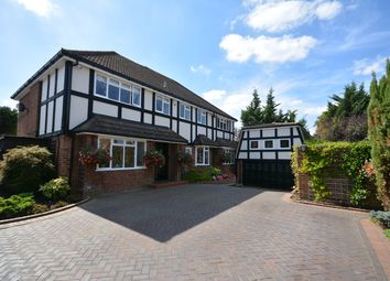 Thumbnail 5 bed detached house for sale in Dalewood Close, Emerson Park, Hornchurch