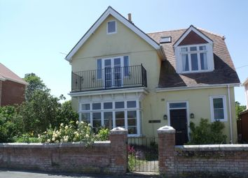 Thumbnail 5 bed detached house to rent in Newton Road, Swanage