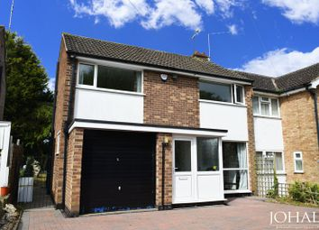 Thumbnail 3 bed semi-detached house to rent in Riston Close, Leicester