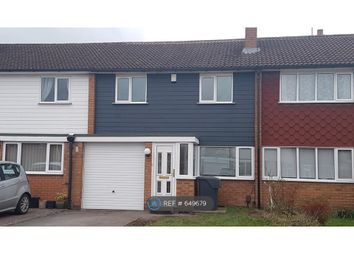 3 bed terraced house to rent in Long Compton Drive, Hagley, Stourbridge DY9