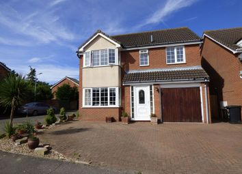 Thumbnail 4 bedroom detached house for sale in Gondree, Carlton Colville, Lowestoft