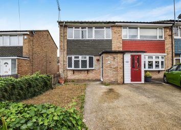 Thumbnail 3 bed terraced house for sale in Queen Elizabeth Drive, Corringham, Stanford-Le-Hope