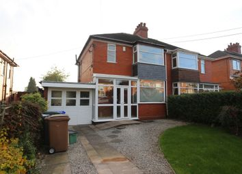 Thumbnail 3 bed semi-detached house for sale in Park Avenue, Weston Coyney