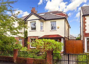Thumbnail 4 bed semi-detached house for sale in Marksbury Avenue, Kew, Surrey