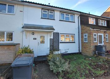 Thumbnail 3 bedroom terraced house to rent in Parker's Field, Stevenage, Hertfordshire