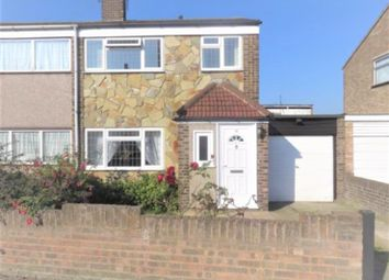 Thumbnail 3 bed semi-detached house to rent in Spindles, Tilbury, Essex