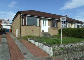 Thumbnail 2 bed semi-detached bungalow to rent in Braeside Avenue, Milngavie, Glasgow