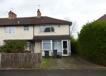 Thumbnail 3 bed property to rent in Hullbrook Road, Billesley, Birmingham.B13