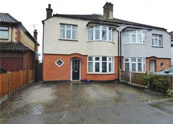 Thumbnail 4 bed semi-detached house for sale in Madeira Avenue, Leigh On Sea