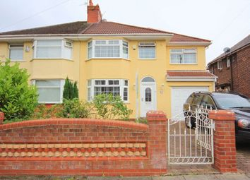 Thumbnail 4 bed semi-detached house for sale in Riverbank Road, Grassendale, Liverpool