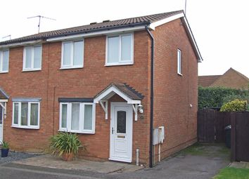 Thumbnail 2 bedroom semi-detached house to rent in Tyne Close, Wellingborough
