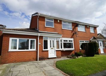 Thumbnail 3 bed semi-detached house for sale in Eskdale Avenue, Blackrod, Bolton, Greater Manchester
