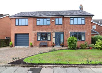 Thumbnail 4 bed detached house for sale in Beatrice Road, Worsley, Manchester